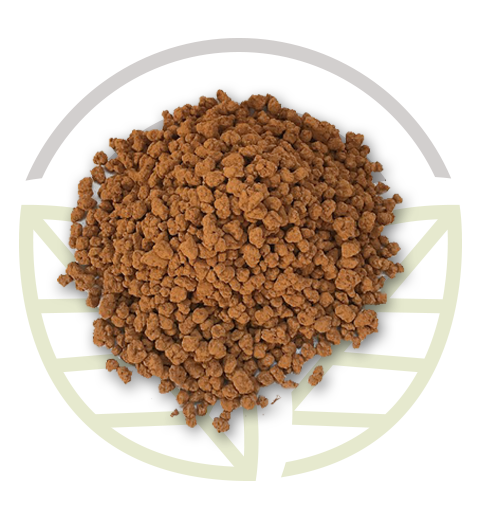 Bio-Clean Gas Power Granular: prodotto in granuli di Biocustom per filtri desolforanti di impianti a biogas